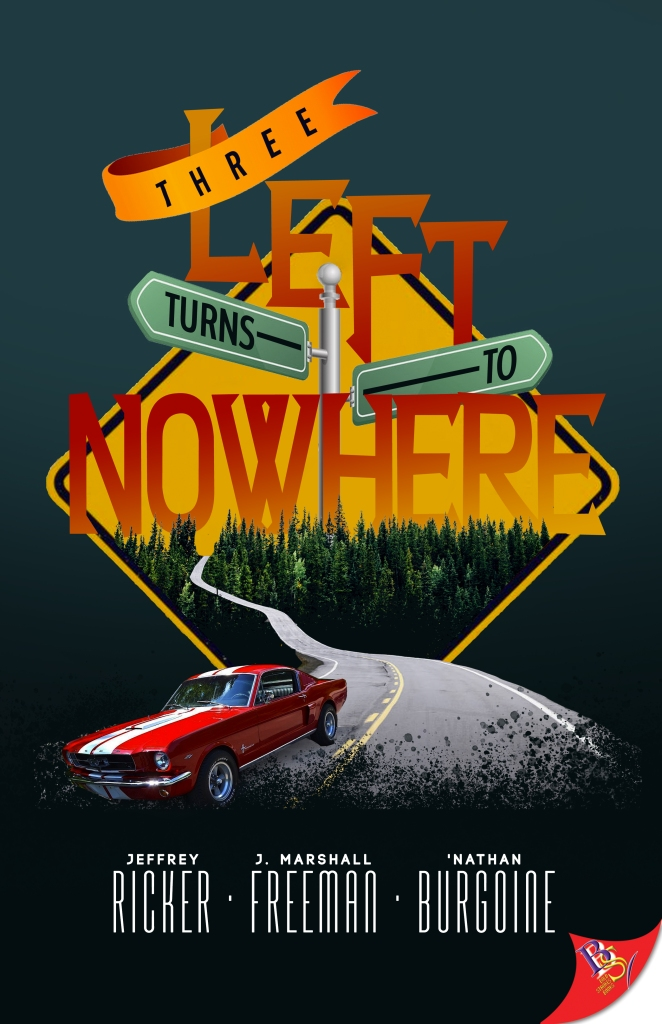 The cover of Three Left Turns to Nowhere.